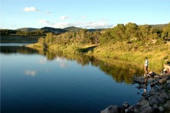 Fishing in Panquitch Lake