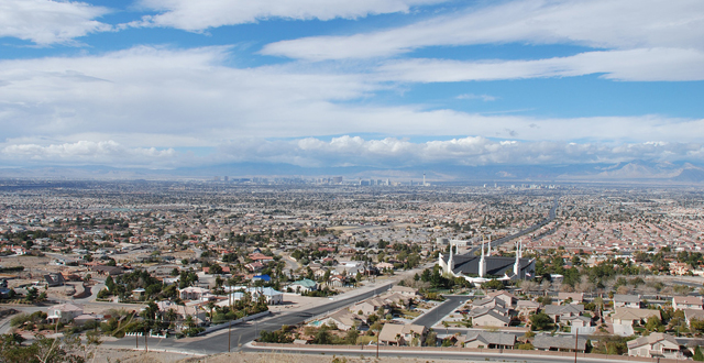 Las Vegas Valley By littlejimm